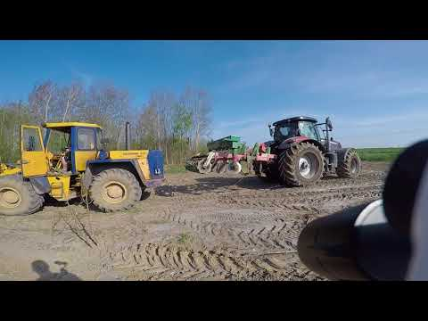 Case IH PUMA 230 CVX vs. Hanomag 44C swap engine 230Hp MAN  (14/15)