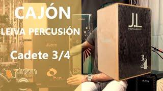 LEIVA PERCUSSION Cajon Cadete 3/4