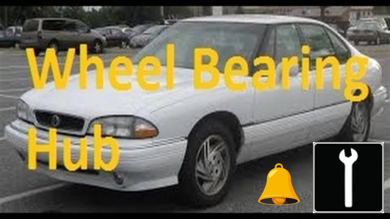 hight resolution of how to change a front wheel bearing 1992 1999 pontiac bonneville