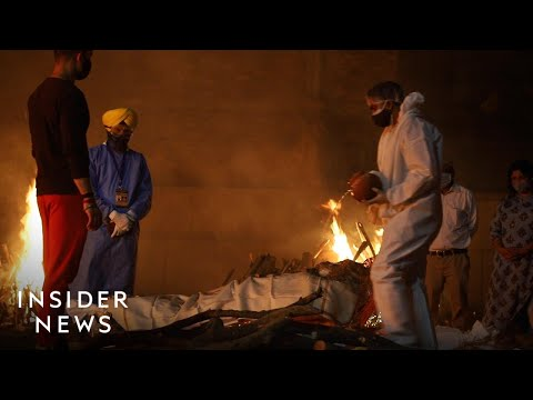 What It's Like To Work At A Crematorium In India As The Death Toll Mounts