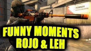 LEH & ROJO   CS:GO - FUNNY MOMENTS