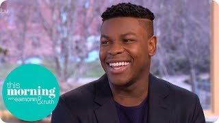 John Boyega Still Gets Excited by the Magic of Making Movies   This Morning