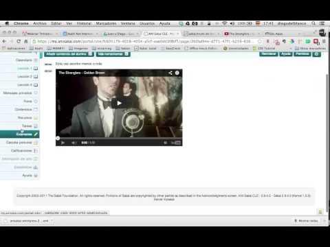 """Webinar """"Introducción a Sakai"""" 25-06-14"""