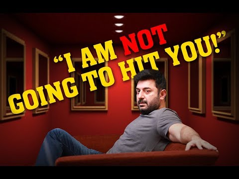 'I AM NOT GOING TO HIT YOU' - says Arvind Swamy | Open Pannaa