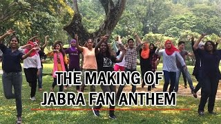 Making Of Jabra Fan Anthem by Malaysian GAURAVs | SRK UNIVERSE MALAYSIA