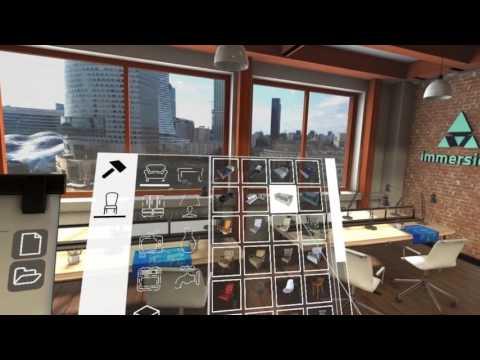 TrueScale - office design in VR