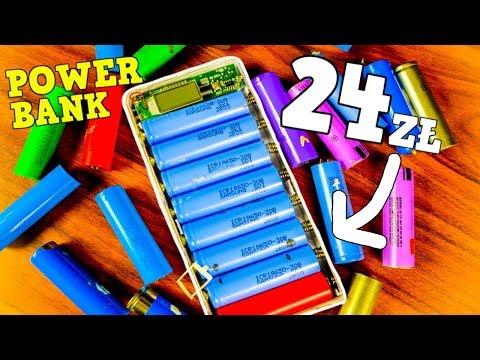 Jak zrobić PowerBank za 24zł? 30,000mAh
