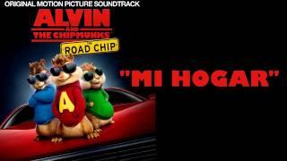 Tu Eres Mi Hogar  Spanish Version   Alvin Y las Ardillas  Aventura Sobre Ruedas HD Con Letra  360p