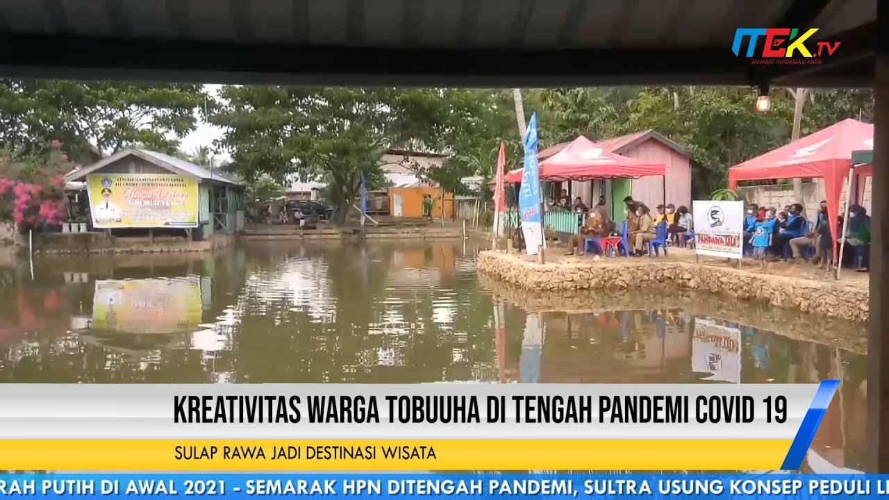 Kreativitas Warga Tobuuha Ditengah Pandemi Covid 19 Sulap Rawa Jadi Destinasi Wisata