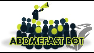 Bot Addmefast 100% WORKING 2016 FREE ! (WITH PROVE & HD)