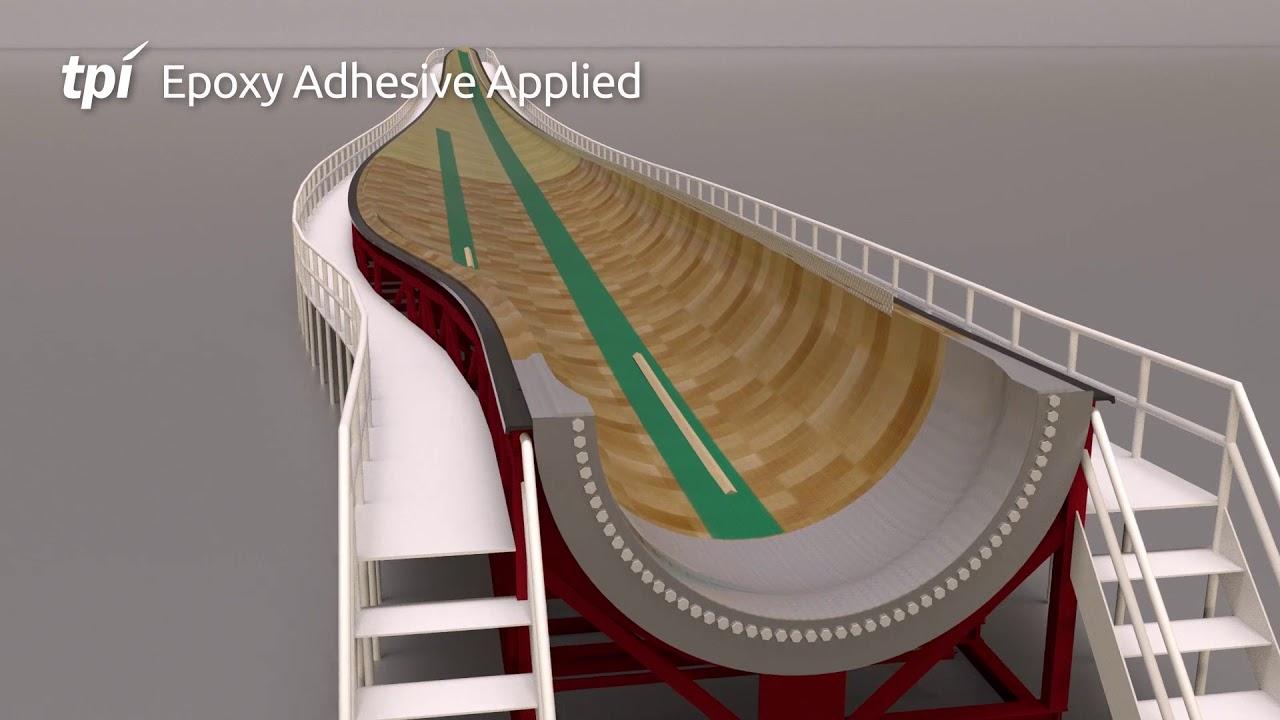 TPI Composites Blade Manufacturing Process