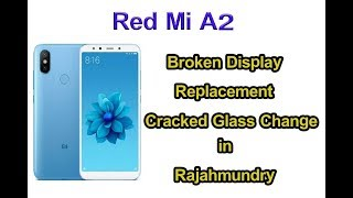 mi a2 broken display replacement touch glass change
