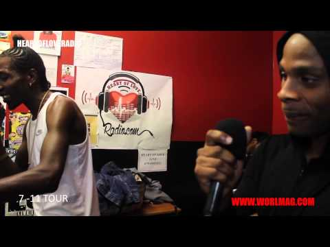 WORLMAG| DEXTA DAPS LIVE ON HEART OF LOVE RADIO WITH GANSTA