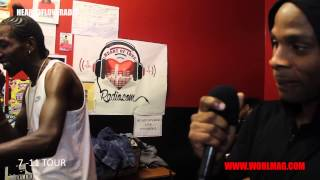 WORLMAG| DEXTA DAPS LIVE ON HEART OF LOVE RADIO WITH GANSTA KID (7-11 TOUR LONDON)