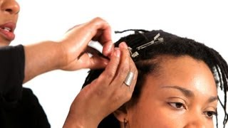 How to Do the Twist & Pin Method | Get Dreads