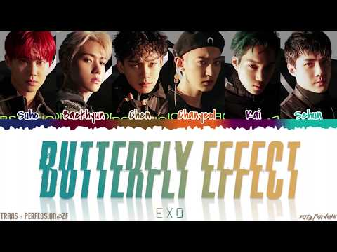 EXO (엑소) - 'BUTTERFLY EFFECT' (나비효과) Lyrics [Color Coded_Han_Rom_Eng]