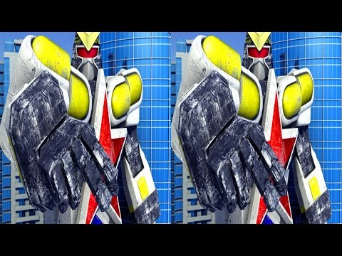 REALD 3D animation test - ROBOT super zeo megazord Ohblocker model real 3d