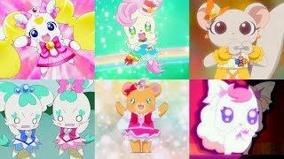 キュアキラリンと他の妖精たちはプリキュアの衣装で変身します!プリキュアオールスターズ thumbnail