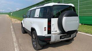 Сел в Land Rover Defender 2020 - извилистая трасса