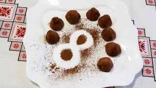 Трюфель в шоколаде Конфеты ручной работы Шоколадные трюфели рецепт своими руками