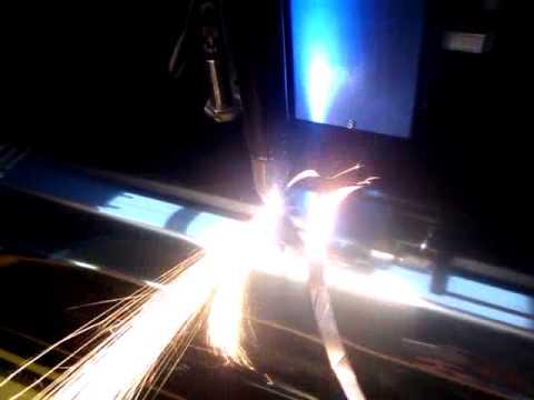 Плазменный станок с ЧПУ для резки труб