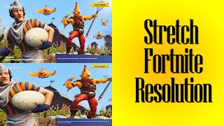 Tutorial: Stretch any Resolution on Fortnite - Without Stretching Desktop + No Mouse Offset!