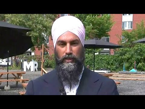 Jagmeet Singh: Green Party put out 'misinformation' about N.B. defections