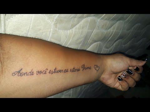 Vlog meu dia fiz duas tatuagem | CASADA AOS 15