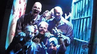 FULL The Walking Dead haunted house at Halloween Horror Nights 2013, Universal Studios Hollywood
