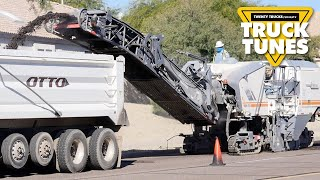 Milling Machine for Children | Truck Tunes for Kids | Twenty Trucks Channel | Cold Planer