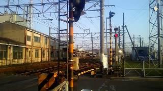 JR四国 松山駅付近 国鉄色キハ185 松山駅構内移動