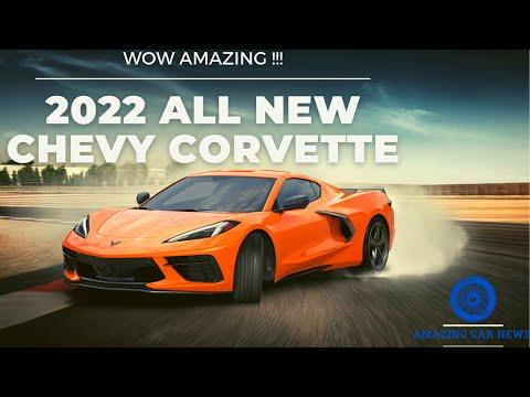 2022 ALL-NEW Chevy Corvette Interior & Exterior