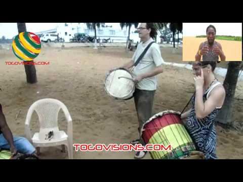Les danses folkloriques du Togo à l'honneur avec un groupe hollandais en séjour à Lomé