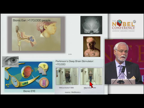 John Donoghue at Nobel Conference 47