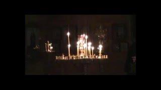 Служба в храме Сергия Радонежского(Суббота 27 февраля., 2016-02-28T06:01:31.000Z)