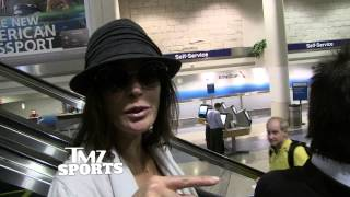 Teri Hatcher -- I HAVE A REAL SUPER BOWL RING ... Here