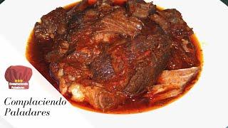 BARBACOA de res en Olla de cocción Lenta receta- Complaciendo Paladares