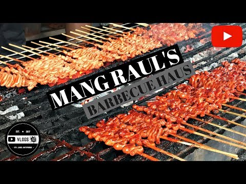 The Famous Mang Raul's Barbecue Haus of the South, Las Pinas Philippines (Food Vlog)