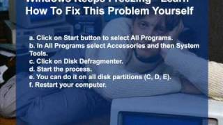 Windows Keeps Freezing - Learn How To Fix This Problem Yourself