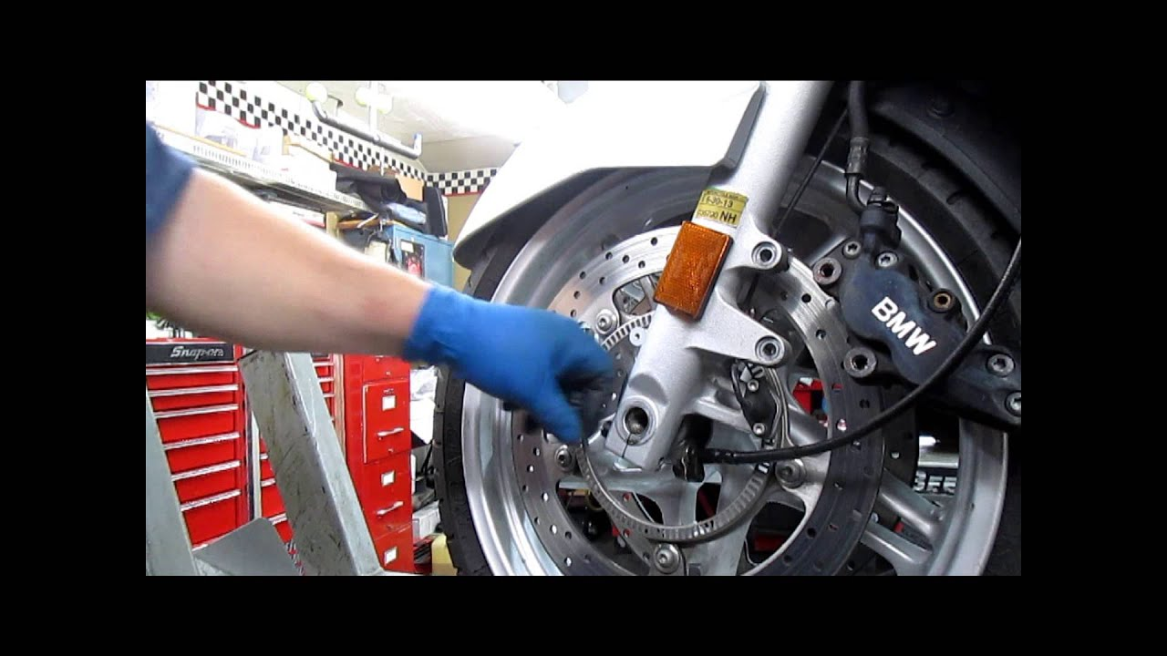Bmw Service Front Wheel Removal Installation Youtube Bikes 2