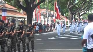 14 juillet 2014 à Tahiti