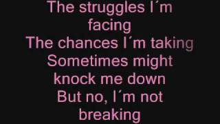 Repeat youtube video Miley Cyrus - The Climb ( Lyrics/Songtext )