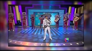 alejandro millan cantando gorrioncillo pecho amarillo en sabado gigante por univision