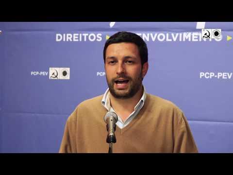 João Ferreira: Jantar de apoiantes em Vila Nova de Gaia
