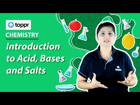 Class 7 Science : Chemistry | Acid, Bases and Salts (CBSE, NCERT)