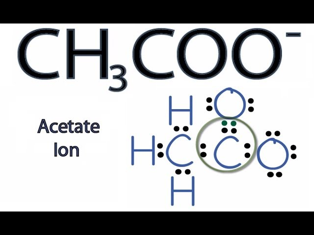 Ch3 Lewis Dot Structure: Draw The Structure For Of CH3COOH Science Carbon And Its