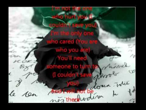 Black Rose-Trapt (lyrics)