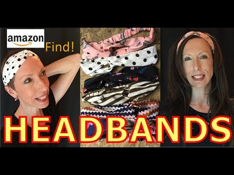 6 Pack Headbands for Women, Fun Hair Accessories, AMAZON Find!