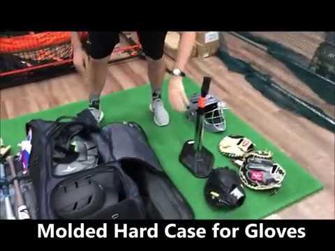Bownet Commander Catcher's Bag Video/Review (Best Baseball/Softball Bag On The Market)
