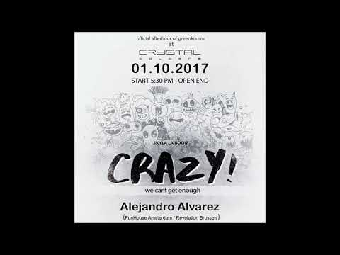Alejandro Alvarez Live @ Crazy Party Cologne - 01-10-2017